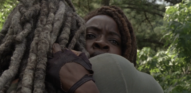 Father Son Holy Gore - The Walking Dead - Ezekiel and Michonne