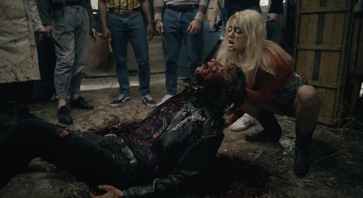 Father Son Holy Gore - American Horror Story 1984 - Montana Kills Richard Ramirez