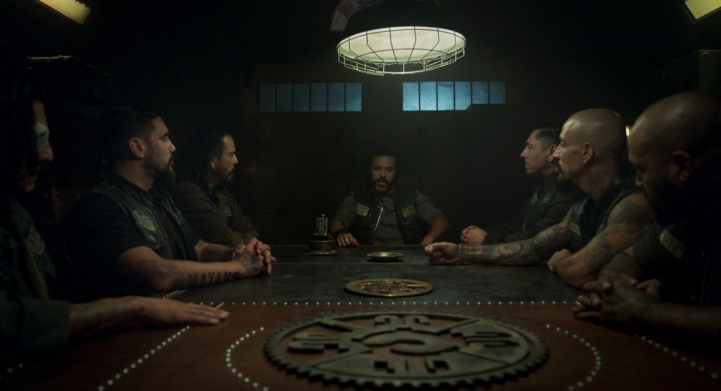 Father Son Holy Gore - Mayans M.C. - Mayans Table