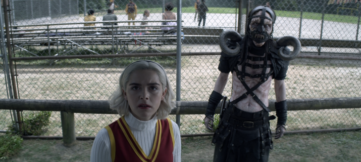 Father Son Holy Gore - Chilling Adventures of Sabrina - Sabrina and Guardian of Hell