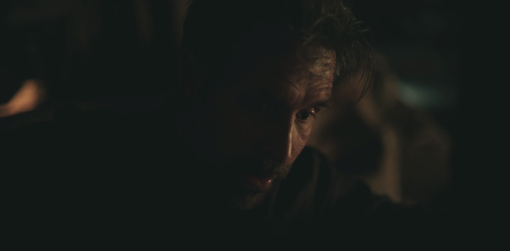 Father Son Holy Gore - The Outsider - Paddy Considine as Fake Claude