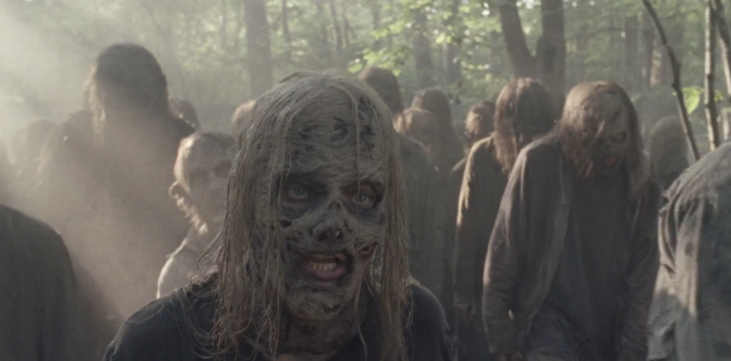 Father Son Holy Gore - The Walking Dead - Samantha Morton as Alpha