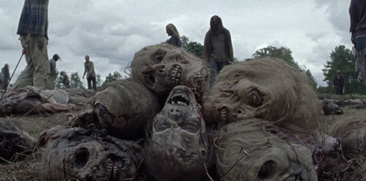 Father Son Holy Gore - The Walking Dead - Zombie Heads