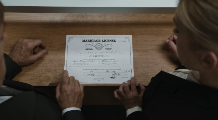 Father Son Holy Gore - Better Call Saul - Jimmy and Kim's Marriage License