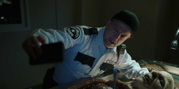 Father Son Holy Gore - NOS4A2 - Jim Norton as Hicks the Security Guard