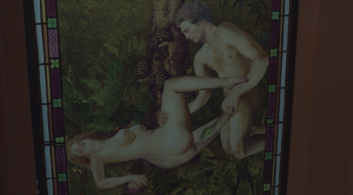 Father Son Holy Gore - Lovecraft Country - Adam and Eve Snake Penis