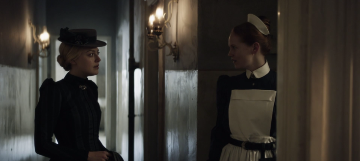 Father Son Holy Gore - The Alienist - Sara and Nurse Libby