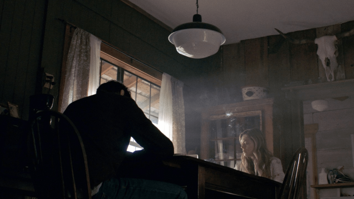 Father Son Holy Gore - The Dark and the Wicked - Michael Abbott and Marin Ireland