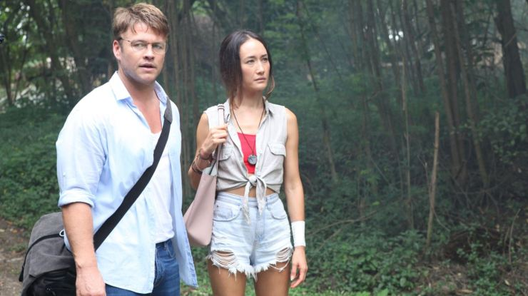 Father Son Holy Gore - Death of Me - Luke Hemsworth & Maggie Q