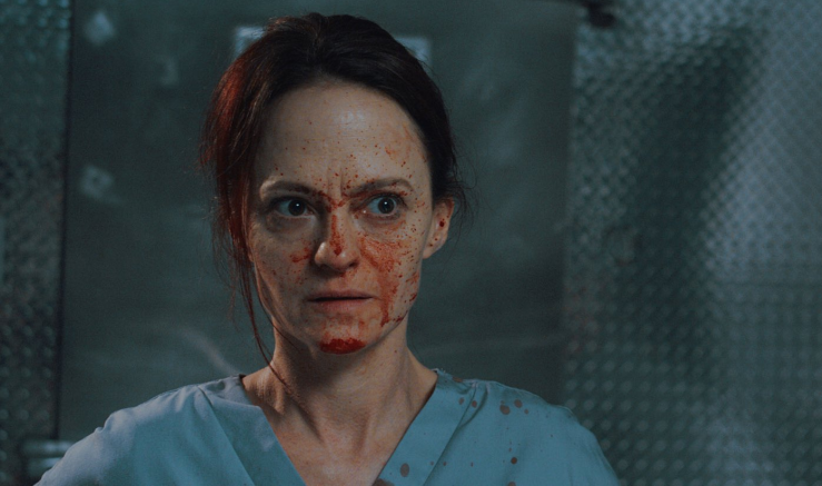 Father Son Holy Gore - 12 Hour Shift - Angela Bettis as Mandy