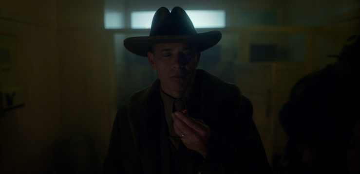 Father Son Holy Gore - Fargo - Timothy Olyphant as Deafy Wickware