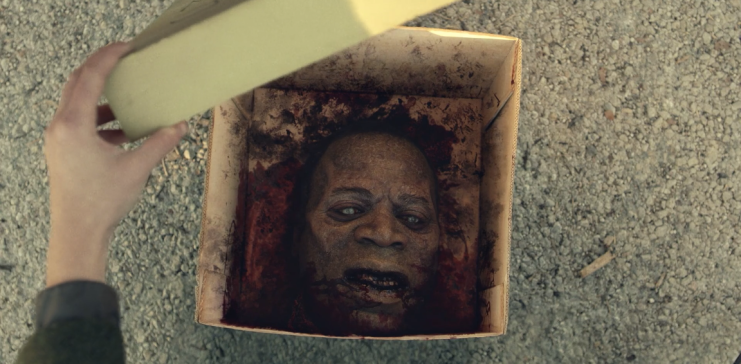 Father Son Holy Gore - Fear the Walking Dead - Emile's Head