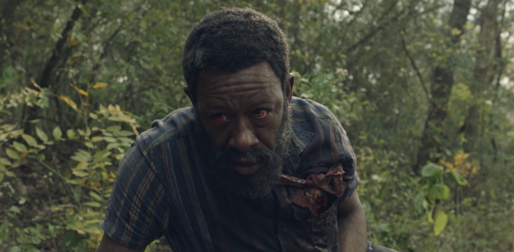 Father Son Holy Gore - Fear the Walking Dead - Lennie James as Morgan Jones