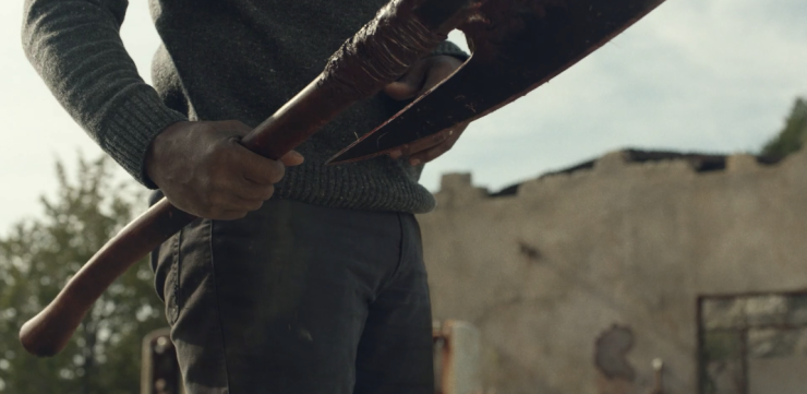 Father Son Holy Gore - Fear the Walking Dead - Morgan's New Axe