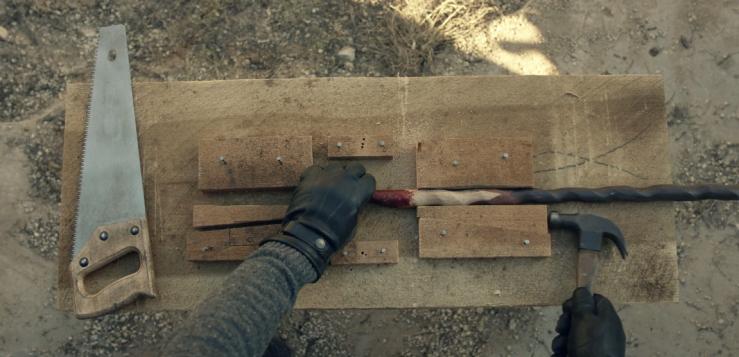 Father Son Holy Gore - Fear the Walking Dead - Morgan's Axe