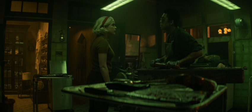 Father Son Holy Gore - Chilling Adventures of Sabrina - Morningstar and Ambrose in the Green Room