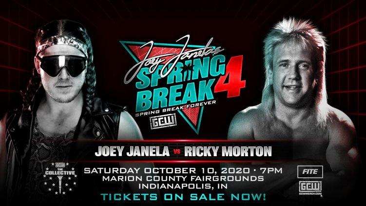 Joey Janela v. Ricky Morton - GCW Spring Break 4