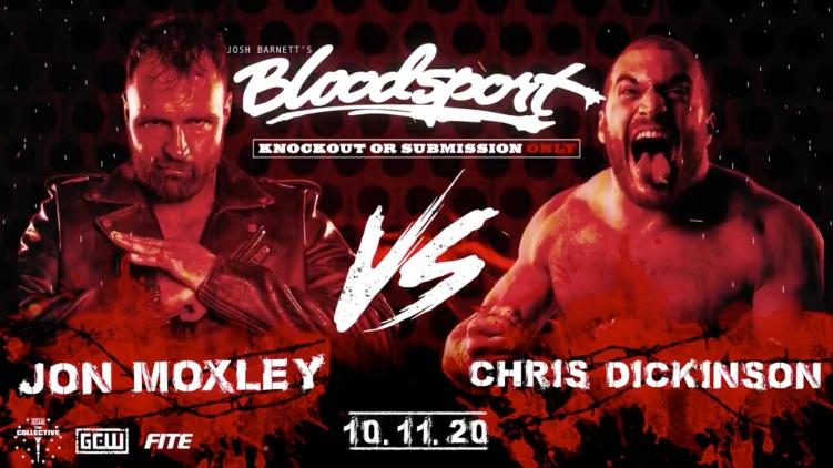 Jon Moxley v. Chris Dickinson - GCW's Bloodsport 3