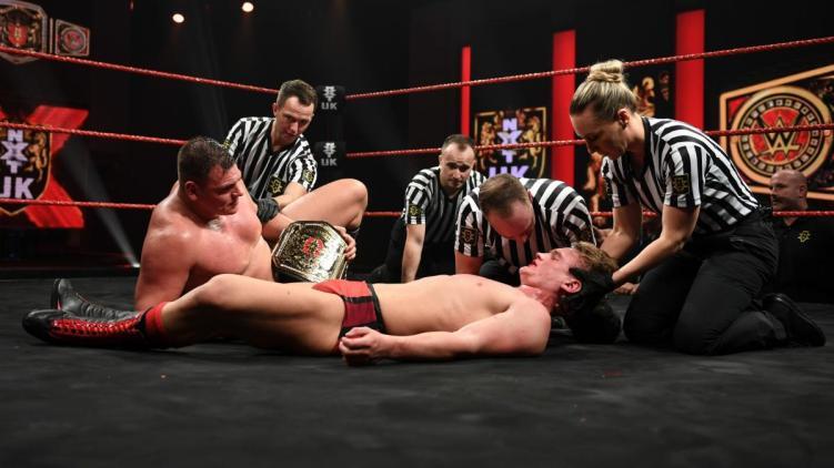 Walter vs. Dragunov - NXT UK
