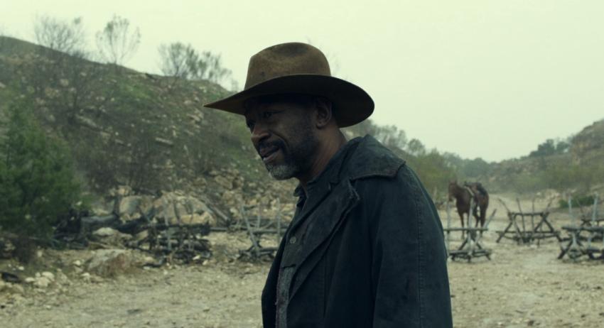 Father Son Holy Gore - Fear the Walking Dead - Lennie James as Morgan Jones