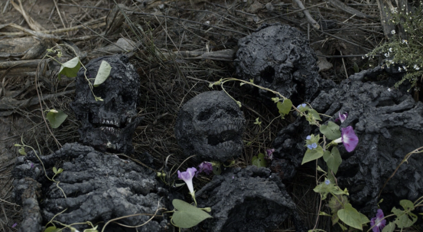 Father Son Holy Gore - The Walking Dead - Burned Corpses with Flowers