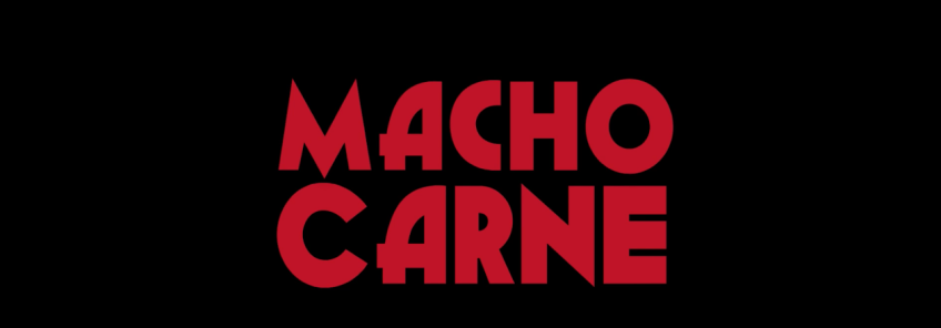 Father Son Holy Gore - Macho Carne - Title Screen