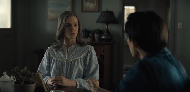 Father Son Holy Gore - Midnight Mass - Alex Essoe as Mildred Gunning
