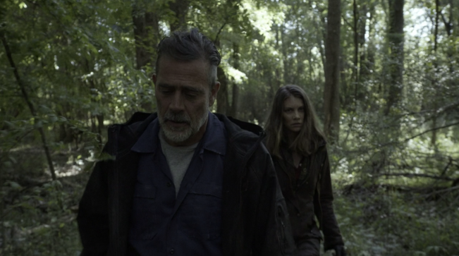 Father Son Holy Gore - The Walking Dead - Negan & Maggie on the Road