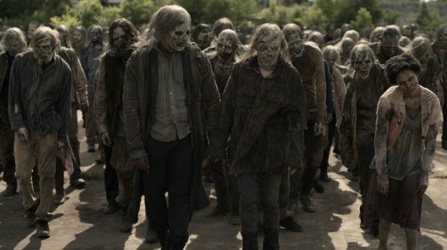 Father Son Holy Gore - The Walking Dead - Maggie & Elijah as Whisperers